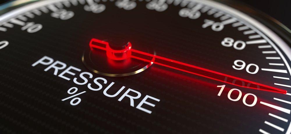 pressure ielts