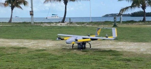 Softbox drone landing