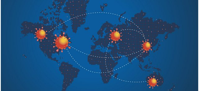 Pandemic simulation