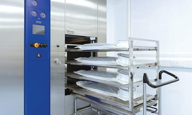 Getinge - sample loading at La Calhene facility