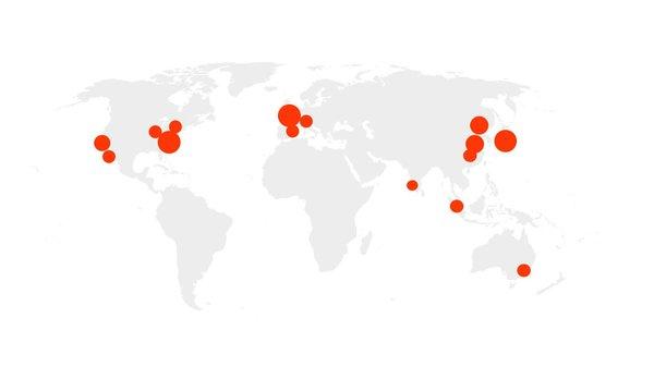 NLP Global hotspots