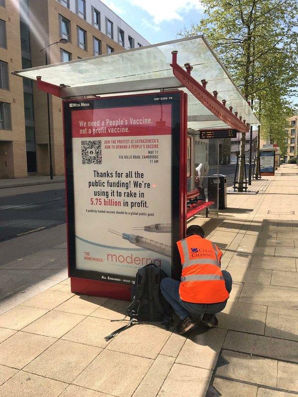 Cambridge Bus Stop AD GJN